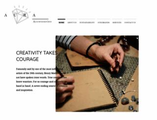 auraaccessories.com screenshot