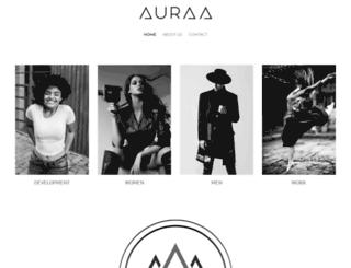 auraamodels.com screenshot