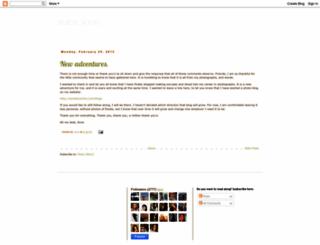 aurajoon.blogspot.com screenshot