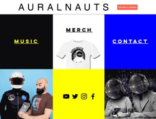 auralnauts.com screenshot