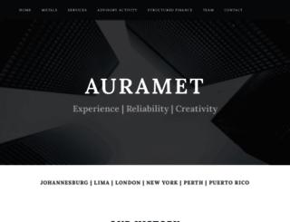 auramet.com screenshot