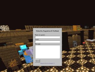 auraminecraft.com screenshot