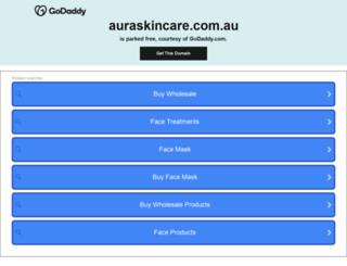 auraskincare.com.au screenshot
