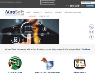 aurasoftinc.org screenshot