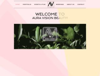 auravision.co.uk screenshot
