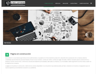 aurea-adviser.com screenshot