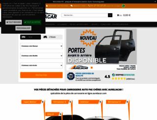 aureliacar.com screenshot