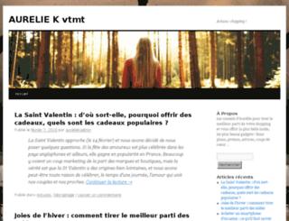 aureliek-vetements.com screenshot