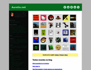 aurelio.net screenshot
