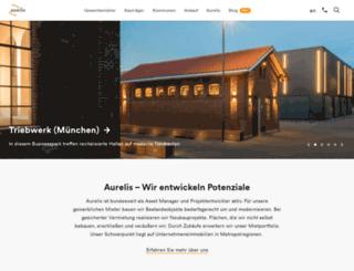aurelis-real-estate.com screenshot