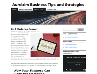 aurelzim.com screenshot