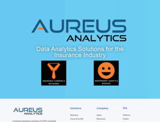 aureusanalytics.com screenshot