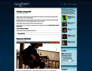 aurgasm.us screenshot