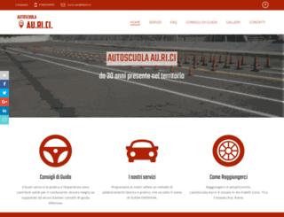 auriciautoscuola.com screenshot