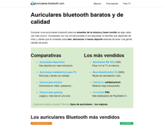auriculares-bluetooth.com screenshot