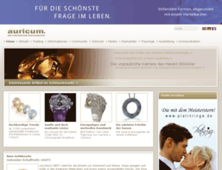 auricum.de screenshot