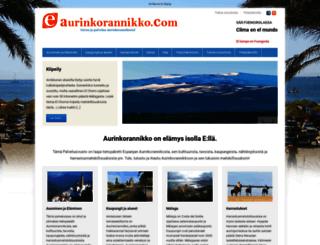 aurinkorannikko.fi screenshot