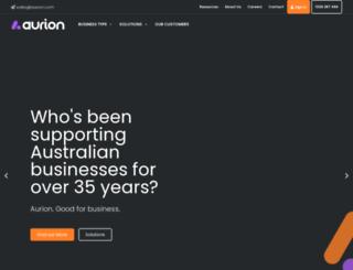 aurion.com.au screenshot