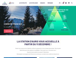 auris-en-oisans.com screenshot