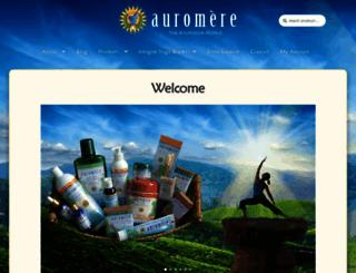 auromere.com screenshot