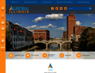 aurora-il.org screenshot