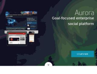 auroracommunity.com screenshot