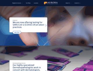 auroradx.com screenshot