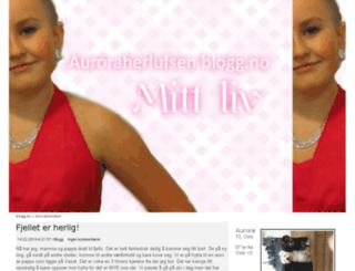 auroraherlufsen.blogg.no screenshot