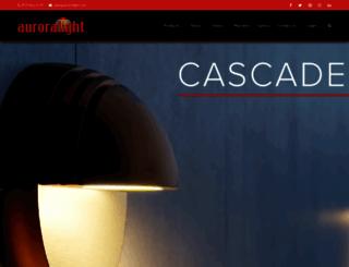 auroralight.com screenshot