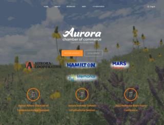 auroranebraska.com screenshot