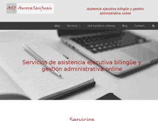 aurorasanjuan.com screenshot