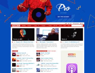aurosonic.promodj.ru screenshot