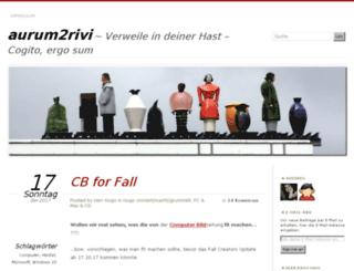 aurum2rivi.wordpress.com screenshot