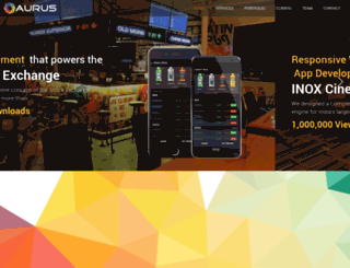 aurusit.com screenshot