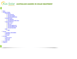 aus-solar.com.au screenshot