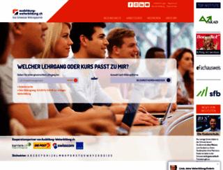 ausbildung-weiterbildung.ch screenshot