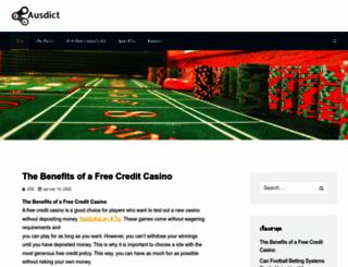 ausdict.org screenshot
