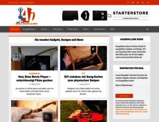 ausgefallene-ideen.com screenshot