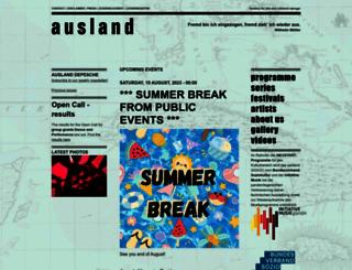 ausland-berlin.de screenshot