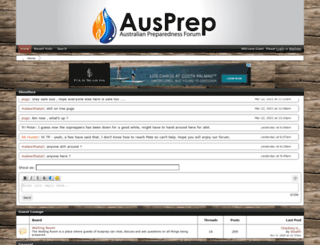 ausprepforum.proboards.com screenshot