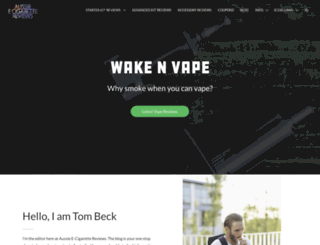 aussie-ecigarette-reviews.com screenshot