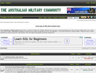 aussiearmy.com screenshot