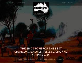 aussiebbqsmoke.com screenshot