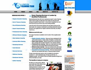 aussiecleanteam.co.uk screenshot
