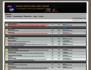 aussiedistiller.com.au screenshot