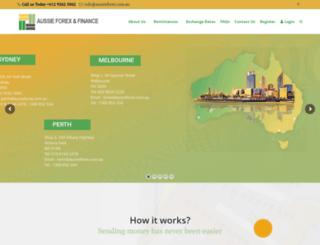 aussieforex.com.au screenshot