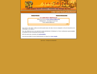 aussieland.alloforum.com screenshot