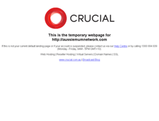 aussiemumnetwork.com screenshot