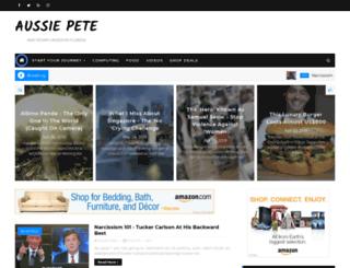 aussiepete.com screenshot