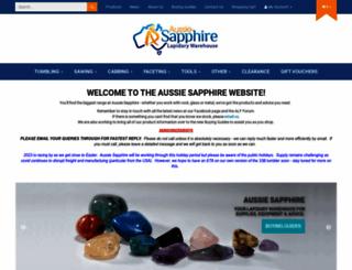 aussiesapphire.com.au screenshot